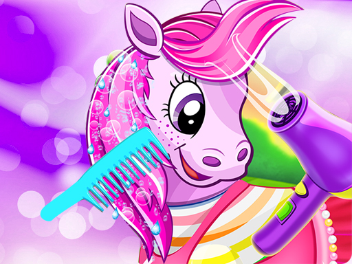 Play Pony Pet Salon Game