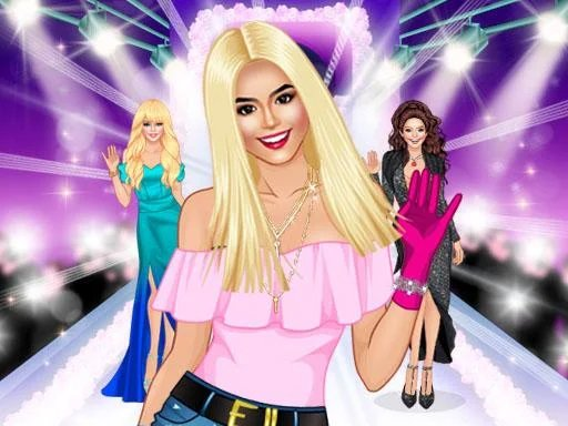 Top Model Dress Up Game for Girl