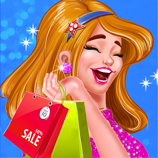 Shopping Mall Rich Girl Dressup - Color by Number