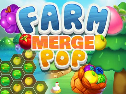 Play Farm Merge Pop