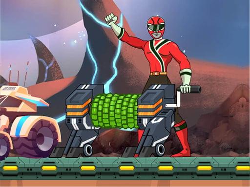 Могучие рейнджеры Space Miner