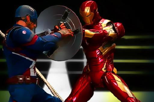 Superheroes Fight