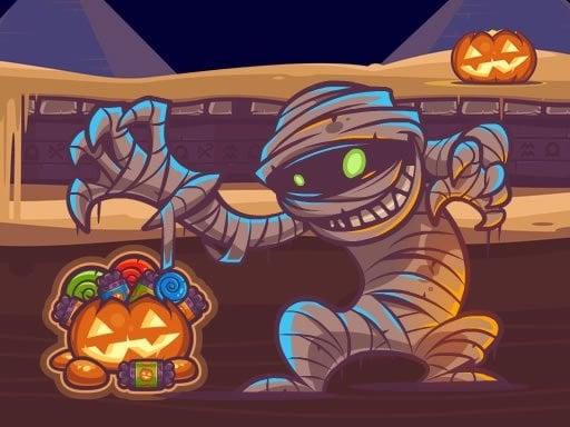 Mummy Candies - Halloween Scary Edition