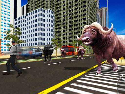Play Wild Bull Shooter Online