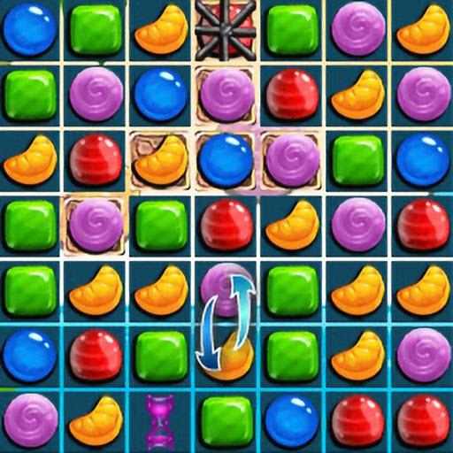 Sweet Candy Match 3 HTML5