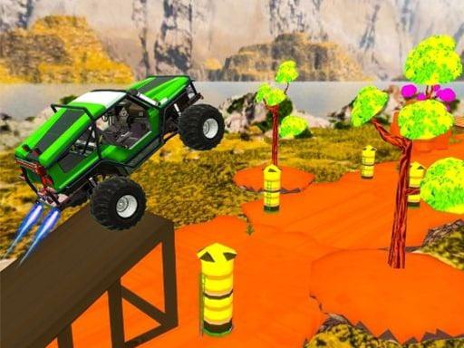 Mega Ramp Car Racing Stunts 3D Невозможные трассы