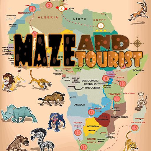 Maze And Fun Tourist