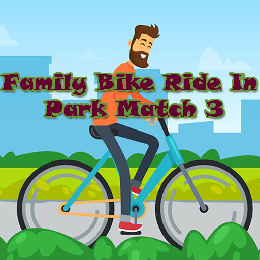 Family Bike Ride In Park Match 3