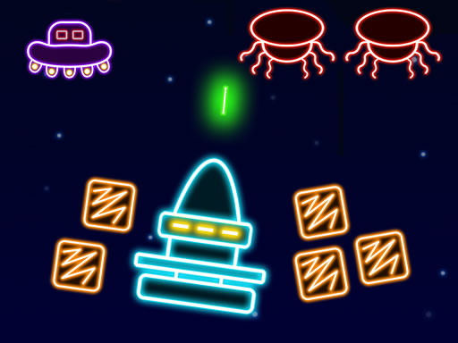 Play Neon Invaders Online