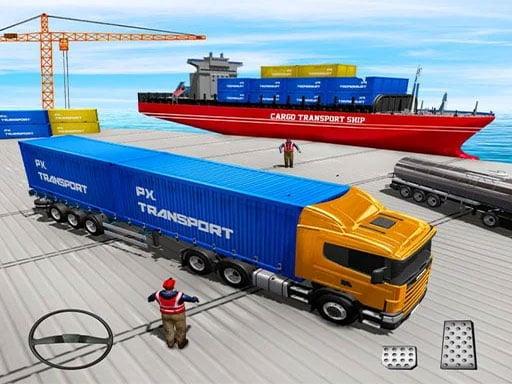 Грузовой транспорт Вождение грузовика