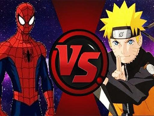 Play Spiderman Vs Naruto
