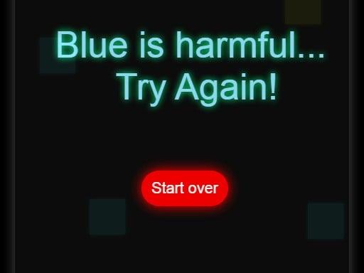 Play Avoid the blue