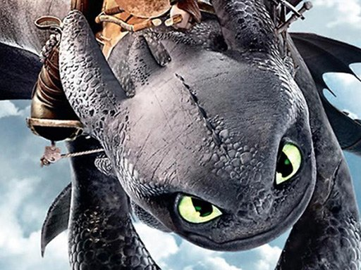 Play How To Train Your Dragon Jigsaw Puzzle Collection