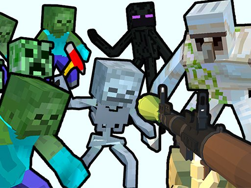 Minecraft Shooter – Спасите свой мир