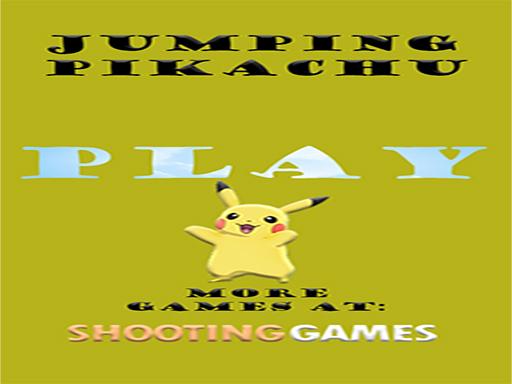 Jumping Pikachu