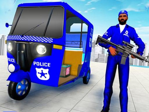Police Auto Rickshaw Drive