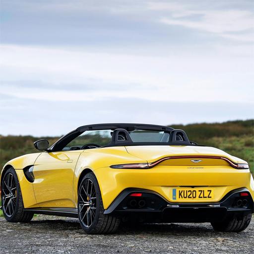 Aston Martin Vantage Roadster Slide