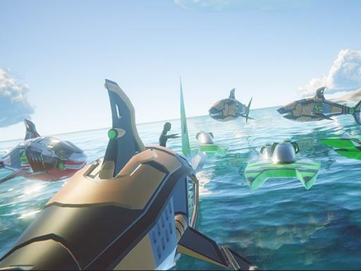 Play Death Ships: Boat Racing Simulator