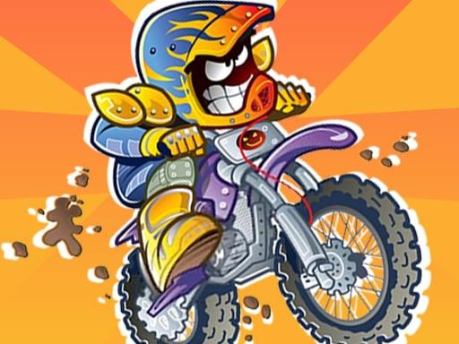 Гонщики на мотоциклах по грязи