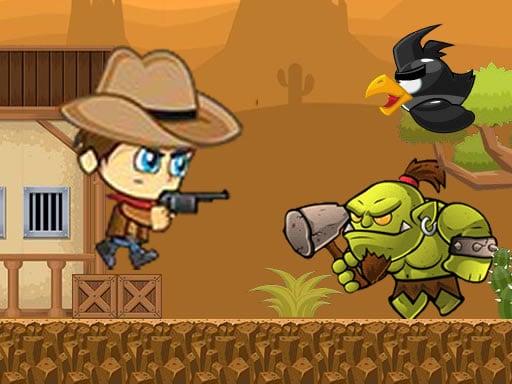 Super Cowboy Running