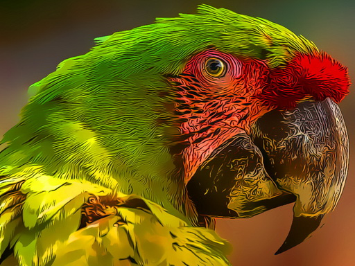 Пазл Попугай Птица
