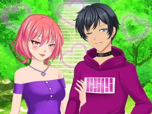 Anime Couples Dress Up Game for Girl