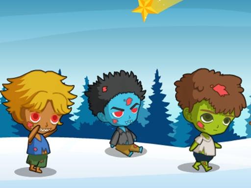 Братья зомби в замороженном мире