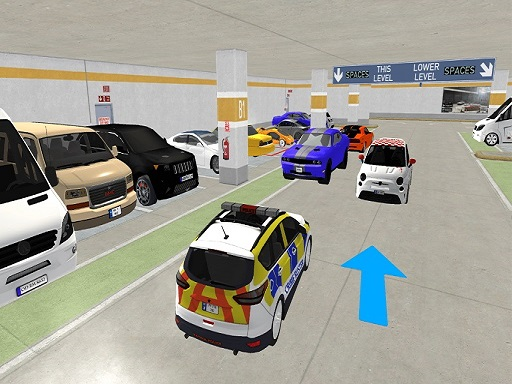 Real Car Parking : Basement Driving Simulation Gam