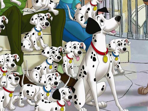 Play 101 Dalmations Jigsaw Puzzle Collection