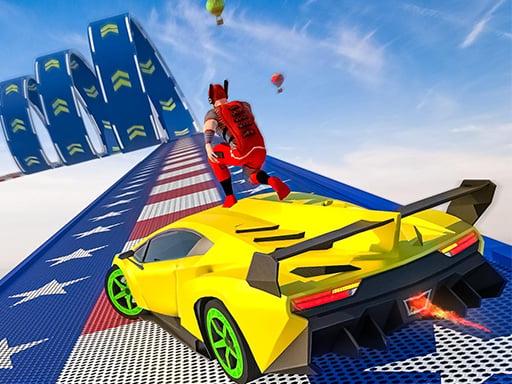 Play Stunt Sky Extreme Ramp Racing 3d 2021