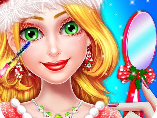 Play Christmas Girl Makeover Game -Christmas Girl Games