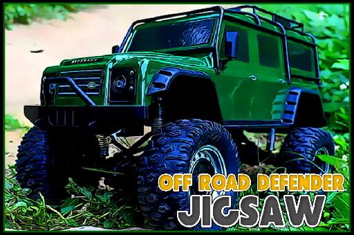 Off Road Defender Jigsaw