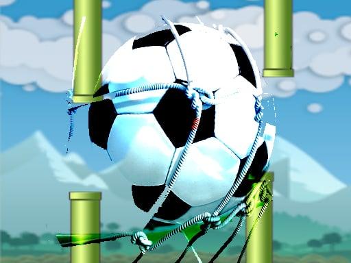 Flying football- Flapper Soccer Game
