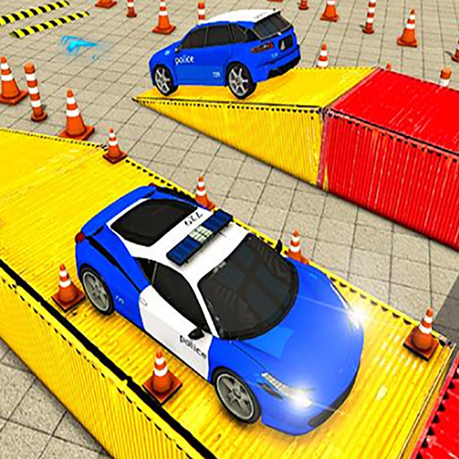 Police Multi Level Car Parking Games