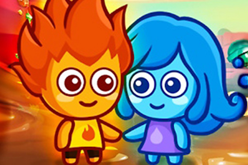 Lava Boy And Blue Girl
