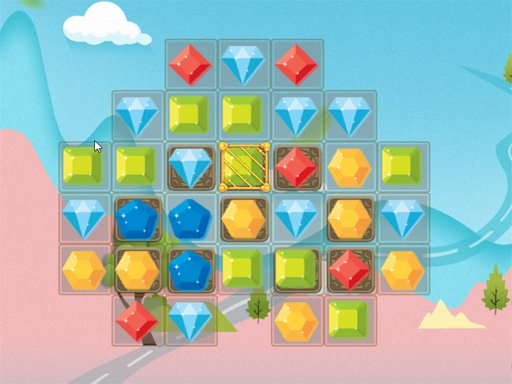 Jewels Match 3 - Popular Games - Cool Math Games