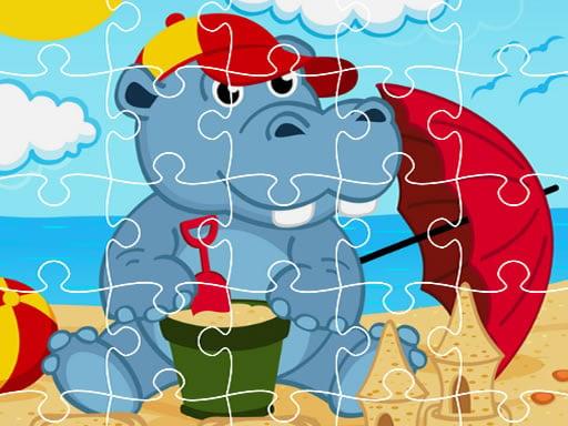 Hippo Jigsaw