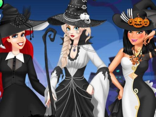 Черно-белый Хэллоуин
