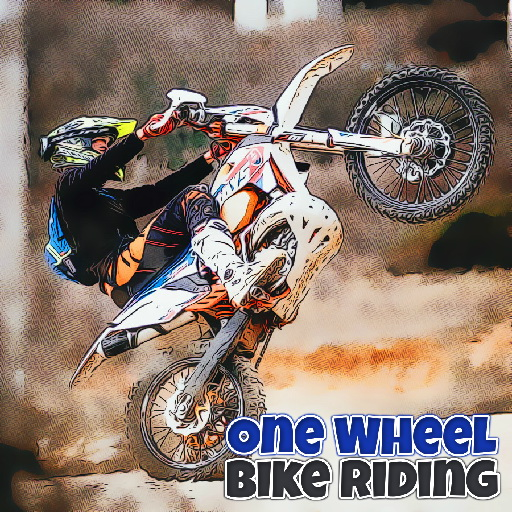 One Wheel Bike Riding