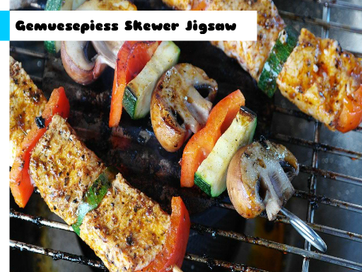 Gemuesepiess Skewer Jigsaw