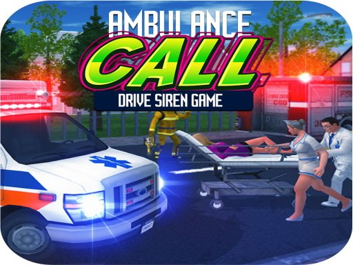 Ambulance Call Drive Siren Game