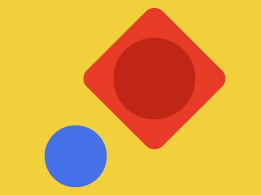 Синий шар