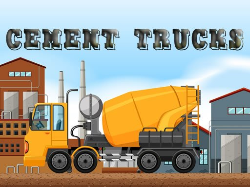 Cement Trucks Hidden Objects