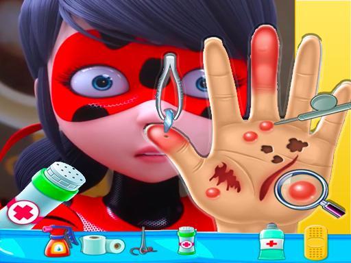 ladybug miraculous Hand Doctor - Fun Games for Gir