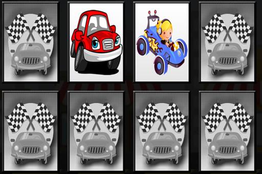 Racing Cars - Memory Game