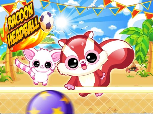 Racoon Headball - Popular Games - Cool Math Games