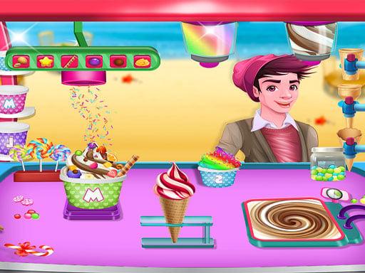Play Ice Cream Maker - Make Sweet Frozen Desserts