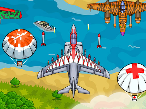 Play Air Force Attack Online