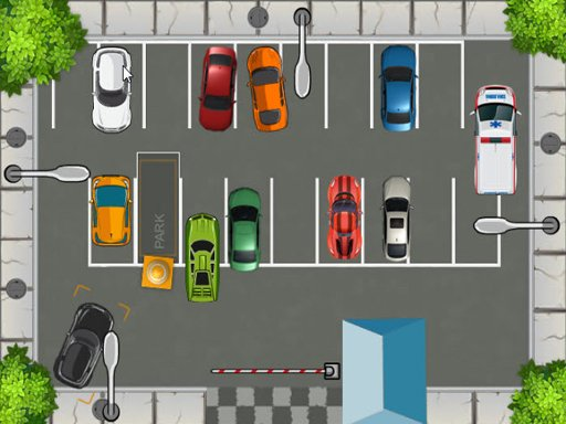 HTML5 Parking Car - Popular Games - Cool Math Games