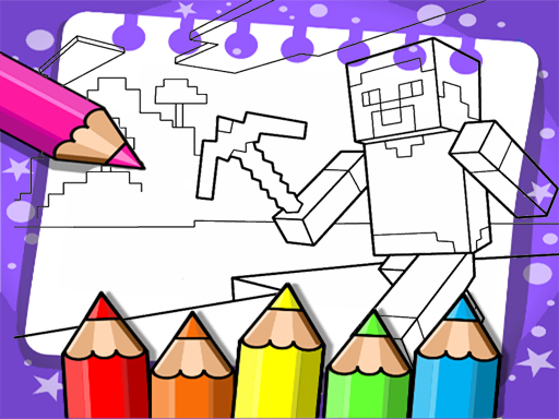 Minecraft Coloring Book  – Desenhos para Colorir